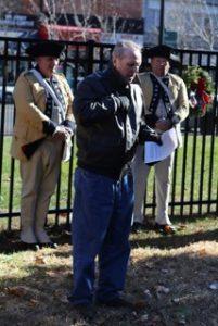 Wreaths Across America event