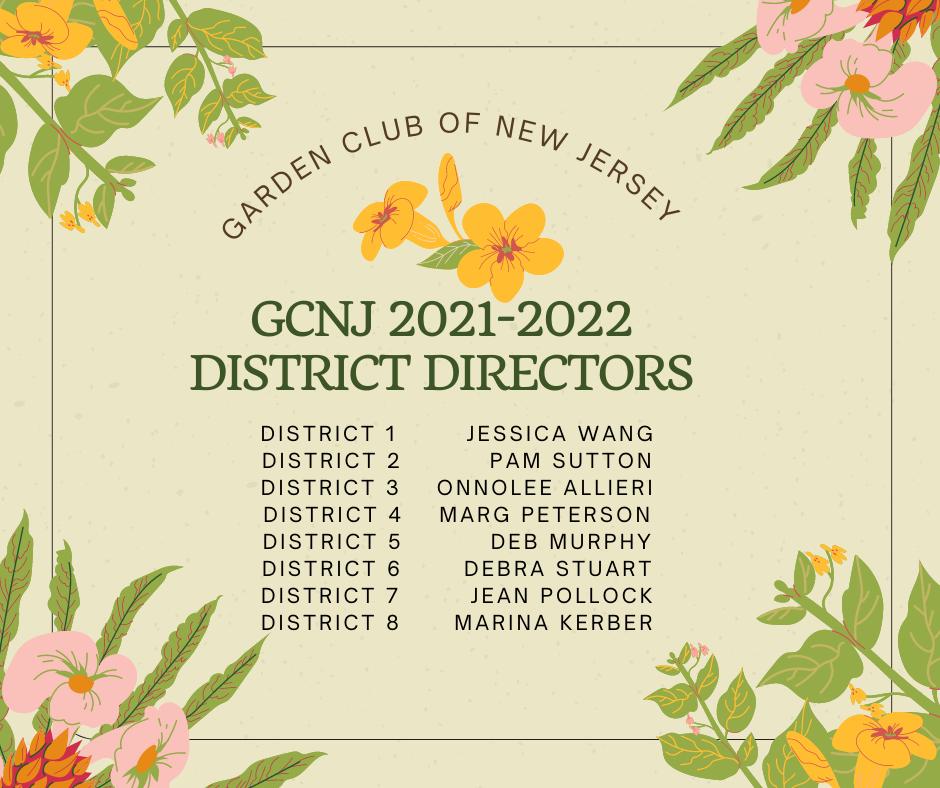 GCNJ Directors